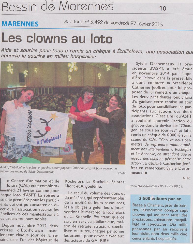les clowns au loto fev 2015
